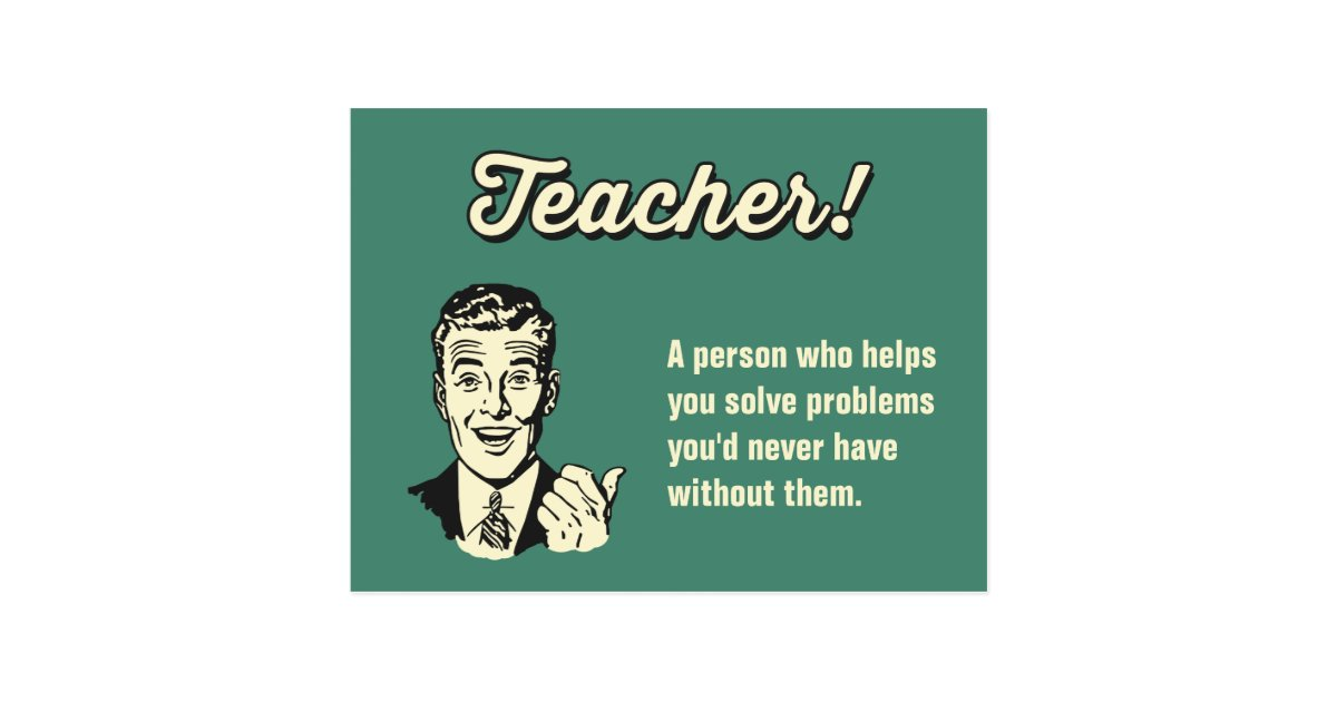 Make Your Own Funny Teacher Definition for Student ...