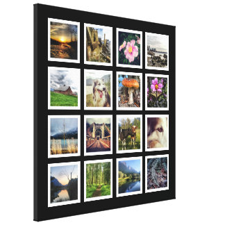 Make Your Own Gallery Style Instagram Photo Grid Canvas Print