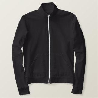 Make Your Own Girls College Fleece Track Jacket! Embroidered Jacket