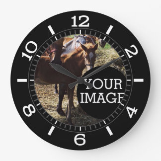 Make Your Own Here Stylish Dial on a Large Clock