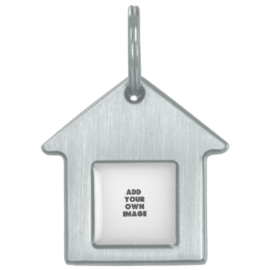 Make Your Own House or Barn Shaped Pet Dog Tag