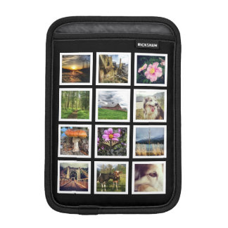 Make Your Own Instagram 12 Photo Collage iPad Mini Sleeves