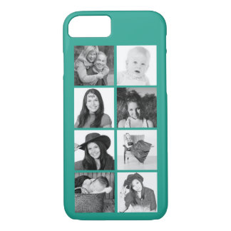 Make Your Own Instagram Photo Collage Any Color iPhone 7 Case