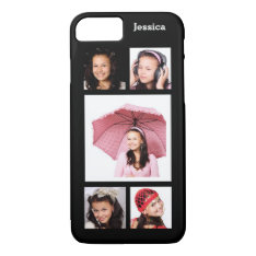 Make Your Own Instagram Photo Collage Iphone 8/7 Case at Zazzle
