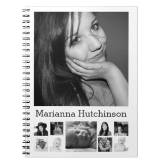 Make Your Own Instagram Photo Personalized Spiral Notebook