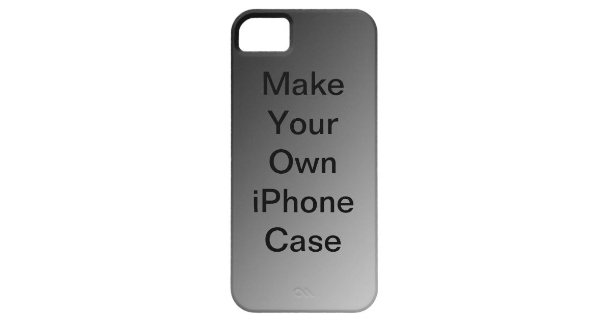 make your own iphone case make your own iphone 5 zazzle 17799