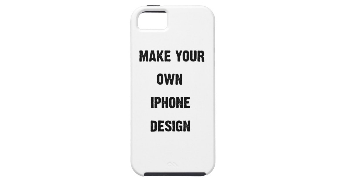 make your own iphone case make your own iphone 5 design add photo zazzle 17799