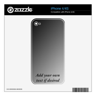 Make Your Own iPhone Skin Decals For iPhone 4S