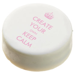 Dipped Oreo® Cookies with Keep Calm and Create Your Own design