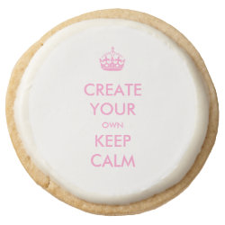 Keep Calm and Create Your Own Premium Shortbread Cookies - Set of 4