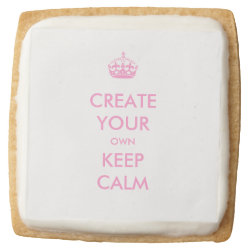 Premium Shortbread Cookies - Set of 4 with Keep Calm and Create Your Own design