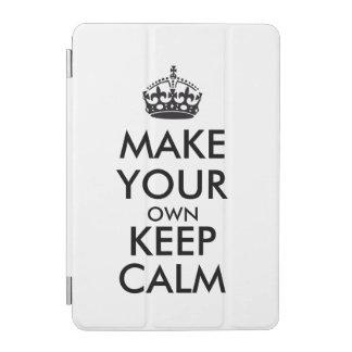 Make your own keep calm - black iPad mini cover