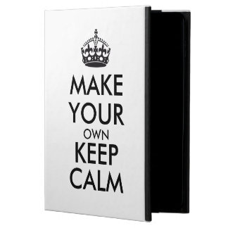 Make your own keep calm - black powis iPad air 2 case