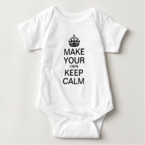 Make Your Own Keep Calm Infant Creeper