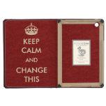 Make Your Own Keep Calm iPad Mini Retina Cover