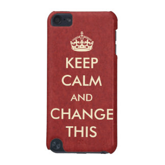 Make Your Own Keep Calm iPod Touch 5G Cover