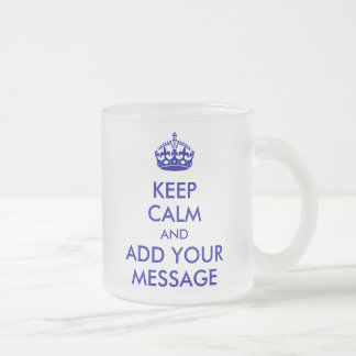 Make Your Own Keep Calm Mug