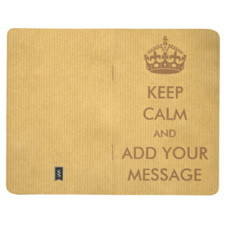 Make Your Own Keep Calm Notebook