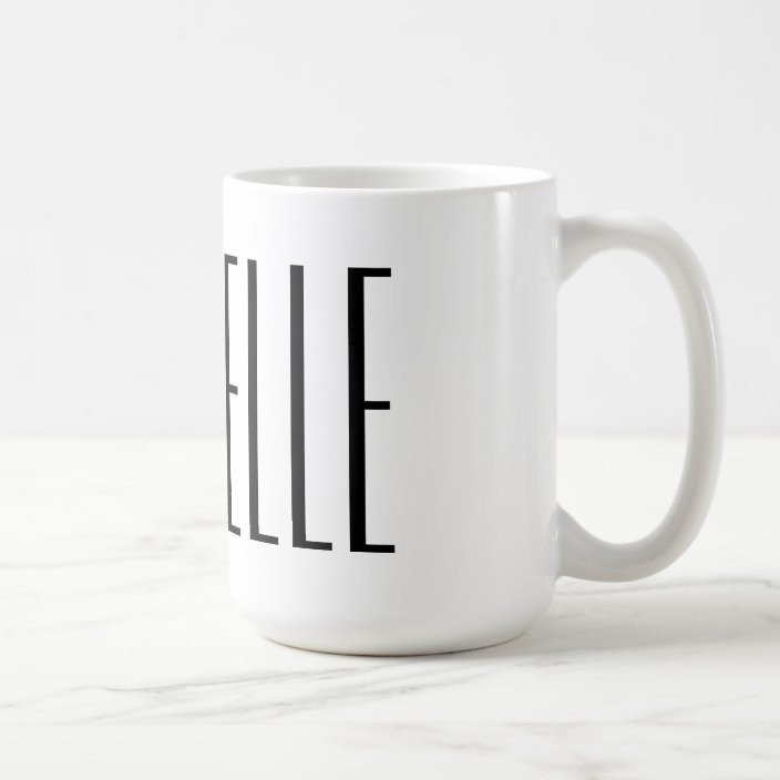 Large Personalized Name Coffee Mugs