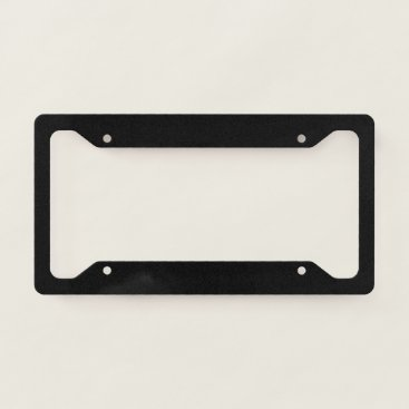 Professional Business MAKE YOUR OWN LICENSE PLATE FRAME
