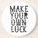 Make your own luck posavasos manualidades
