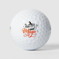 Make Your Own Magic   Halloween Golf Balls