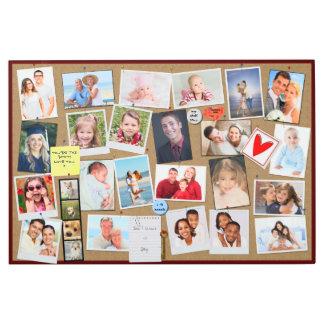 Make Your Own Memories Photo Faux Cork Board Metal Print