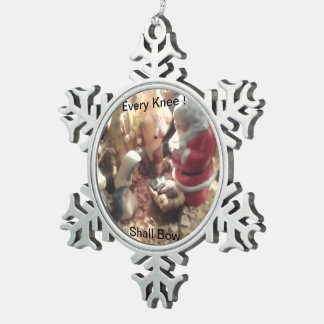 Make your own Memory Snowflake Ornament