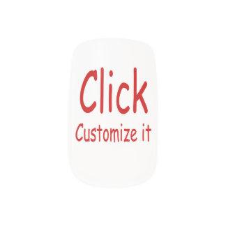 Design your own nail art nail wraps zazzle make your own minx nail art prinsesfo Choice Image