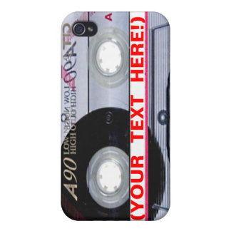 Make Your Own Mix Cassette Tape iPhone Case