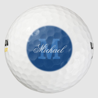 Make your own name monogram golf balls