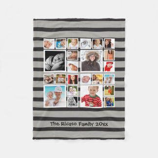 Make Your Own One of a Kind Personalized Custom Fleece Blanket