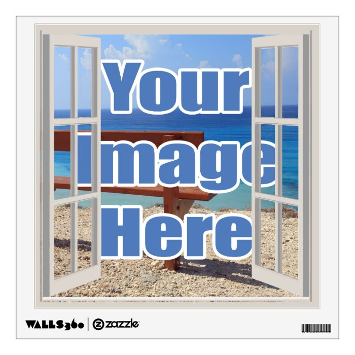 make your own open window personalized wall sticker zazzle make your own wall stickers 2017 grasscloth wallpaper