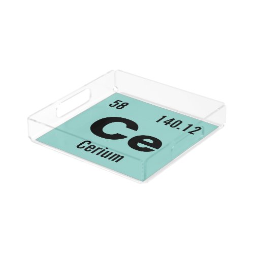 Make Your Own Periodic Table of the Elements Acrylic Tray