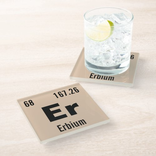 Make Your Own Periodic Table of The Elements Glass Coaster
