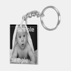 Make Your Own Personalized Diy Custom 2 Sided Keychain at Zazzle