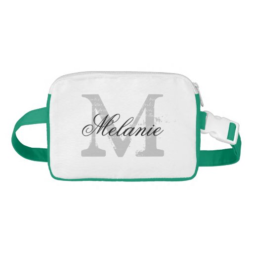 Make your own personalized monogram fanny pack fanny packs zazzle