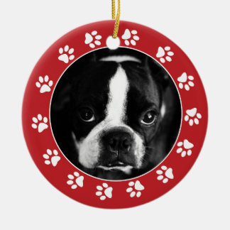 Make Your Own Pet Christmas Photo Ornament