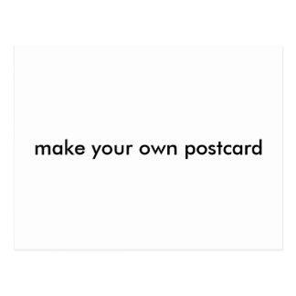 Make Your Own Post Card