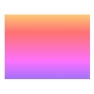MAKE YOUR OWN POSTCARD Pastel Rainbow Customizable