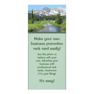 Make Your Own Promotional Rack Card