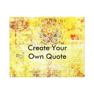 Make Your Own Quote Custom Make Quote Wrapped Canvas Prints  Zazzle