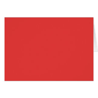 MAKE YOUR OWN RED - PHOTOS GREETING CARD