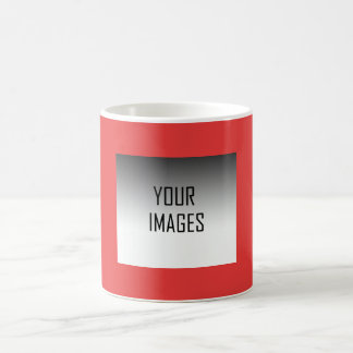MAKE YOUR OWN RED - PHOTOS CLASSIC WHITE COFFEE MUG