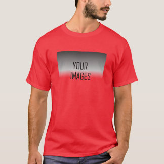 MAKE YOUR OWN RED - PHOTOS T-Shirt