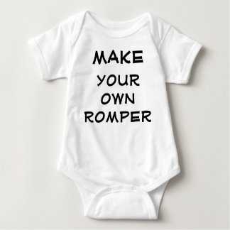 Make your own romper