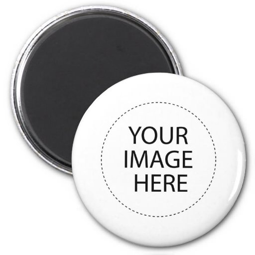 Make Your Own Round Magnet Zazzle