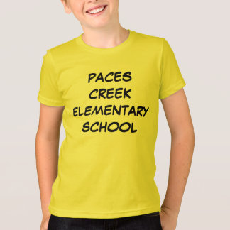 MAKE YOUR OWN SCHOOL SHIRT W/ MASCOT NAME ON BACK
