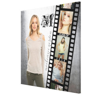Make Your Own Senior Portrait Collage Class of 201 Canvas Print