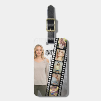 Make Your Own Senior Portrait Retro Film Negative Bag Tag